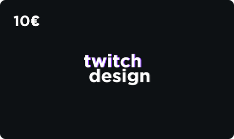 twitch-design Store Gift Card.