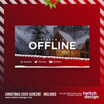 Animated Christmas 2020 Offline Twitch Screen