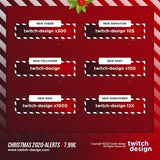 Animated Christmas 2020 Twitch Alerts