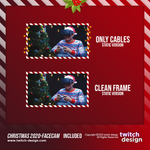 Animated Christmas Twitch Stream Facecam