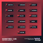 Valorant Twitch Panels.