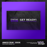 Animated Stream Twitch Screens (No Watermark)