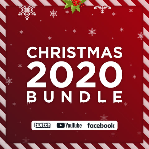 Animated Christmas 2020 Twitch Bundle