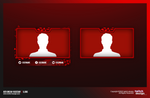 Red Break Twitch Stream Design Facecam