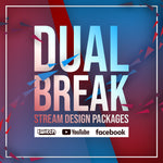 Dual Break Mega Twitch Stream Design Bundle