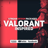 Valorant Twitch Stream Design Bundle