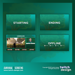 Survival Twitch Screens
