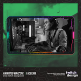 Animated Warzone Twitch Facecam RGB Webcam Overlay