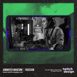 Animated Warzone Twitch Facecam Purple Webcam Overlay