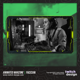 Animated Warzone Twitch Facecam Yellow Webcam Overlay
