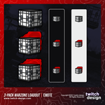 3-Pack Call of Duty Warzone Loadout Twitch Emotes Bundle