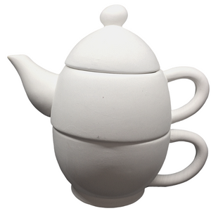 Tea For One Stacked Teapot