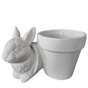 Bunny Flower Pot