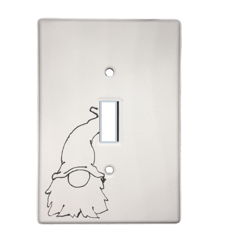 Just Add Colour - Gnome Toggle Light Switch Cover