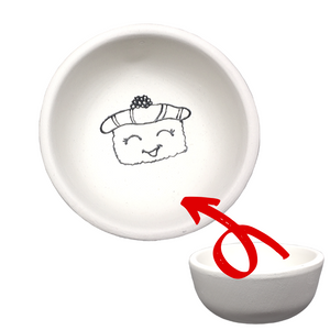 Just Add Colour - Cute Sushi - Soy Sauce Dish / Bowl