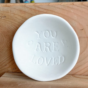 You Are Loved - Spoon Rest Dish