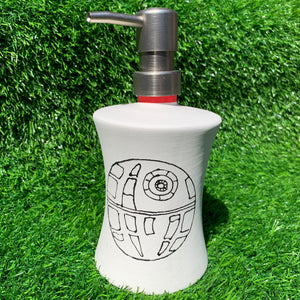 Just Add Colour - Space Ship Soap Dispenser