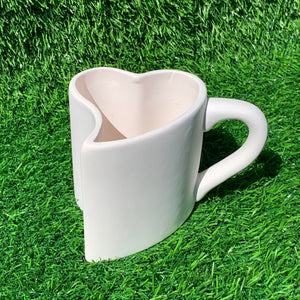 Heart Shaped Puzzle Mug (single)