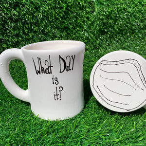 Just Add Colour - What Day Is It? Mug