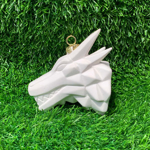Origami Faceted Dragon Ornament