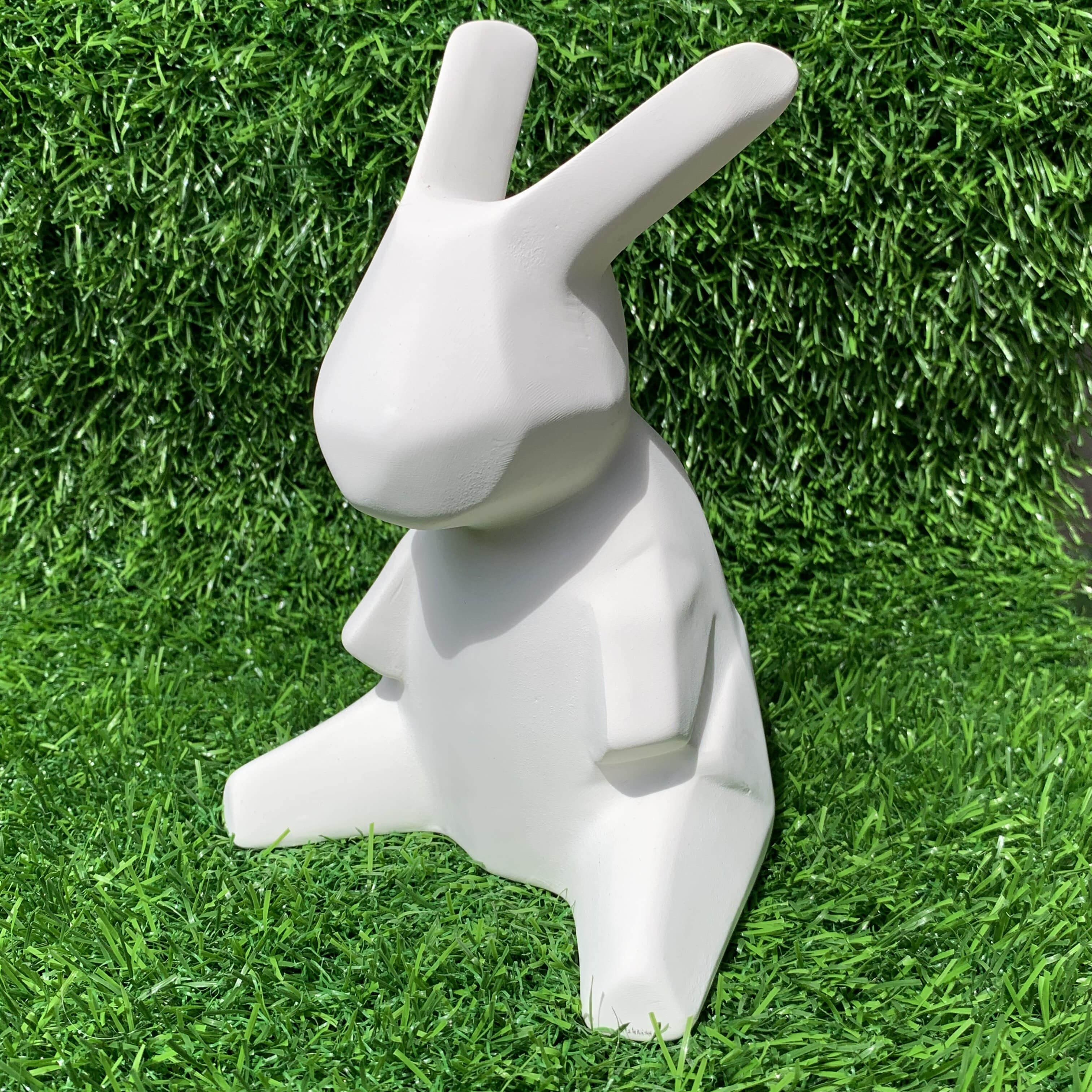 Origami Faceted Rabbit