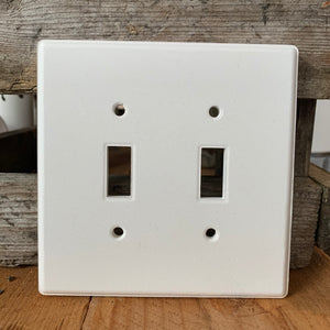 Toggle Light Switch Cover - Double