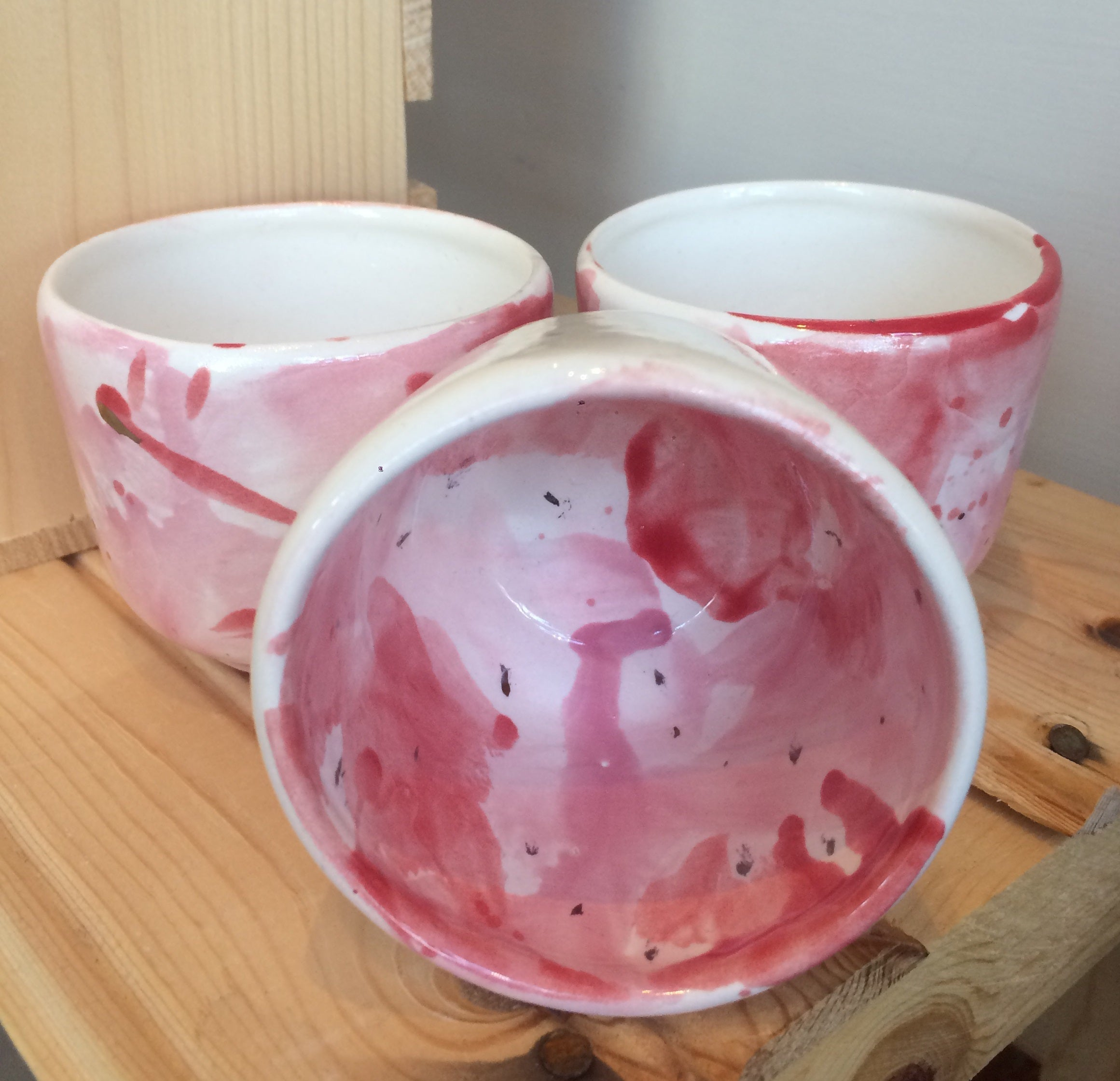 Painted Tea Cups