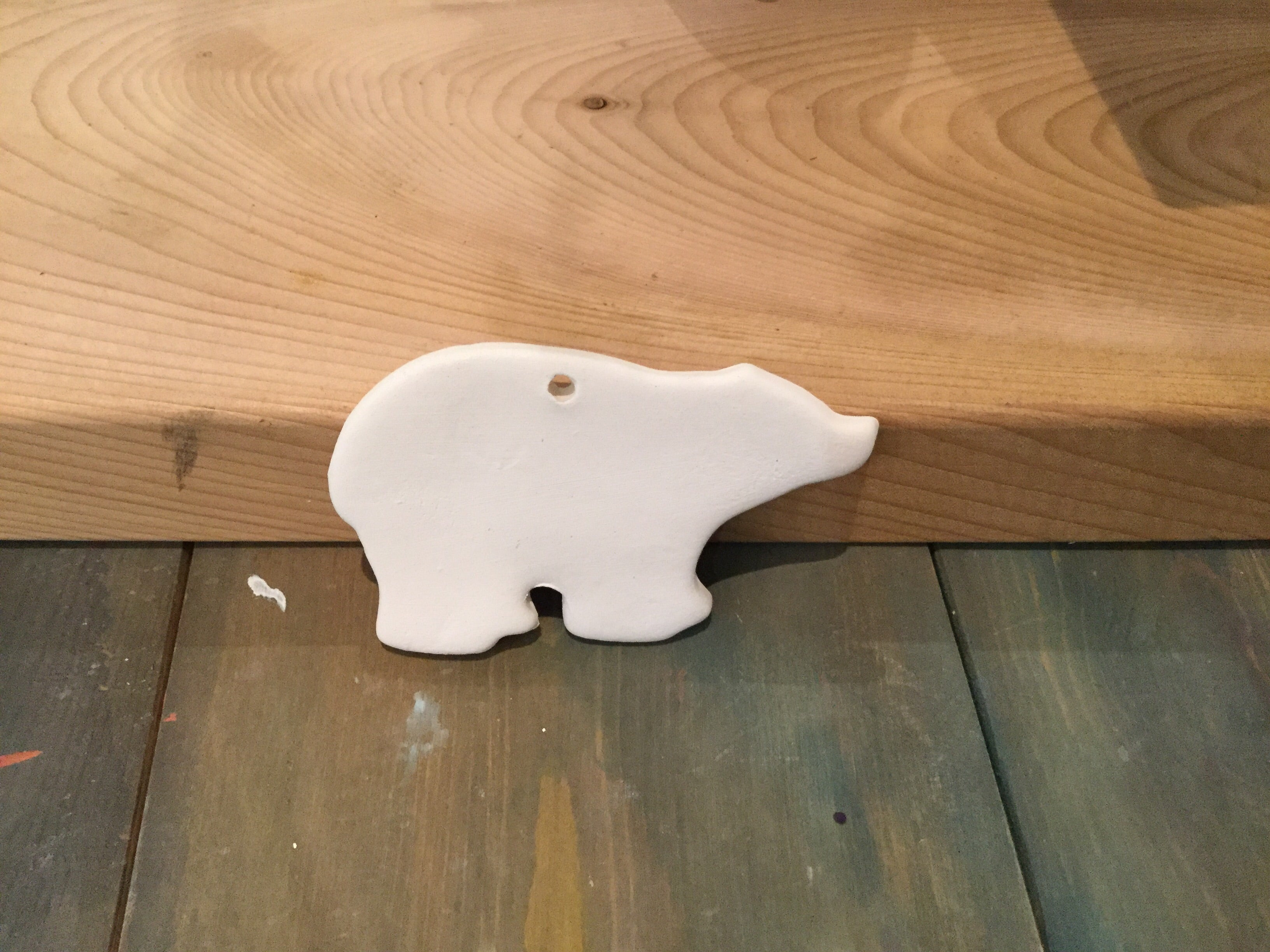 Bear Ornament, Flat