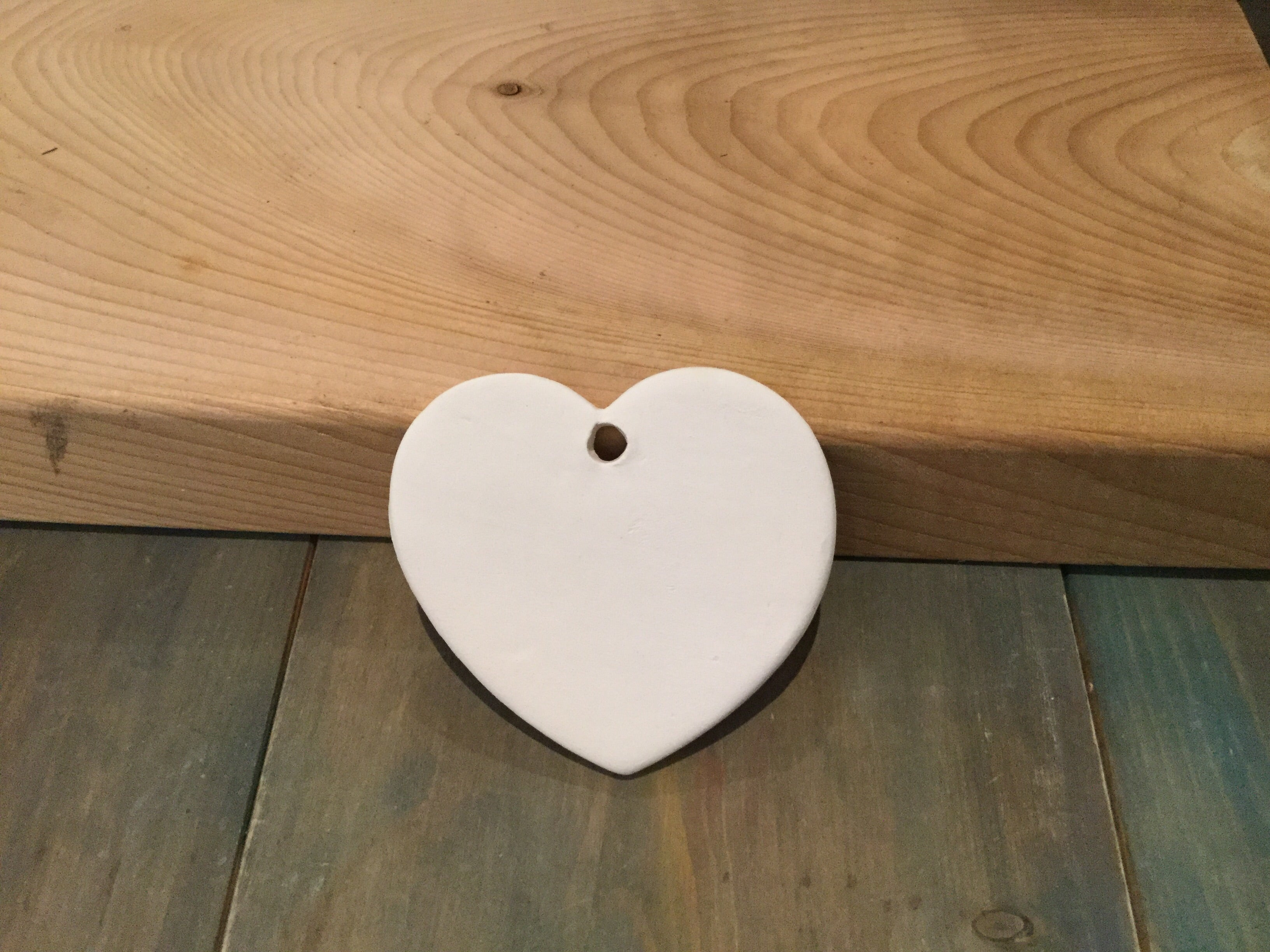 Heart Ornament, Flat
