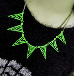 Kalung Vivid Green Urban Necklace (in stock: hijau)