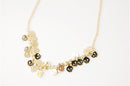 Kalung Fashion Skull Golden Necklace