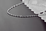 Elegant Ocean 18K Silver Necklace