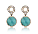 Anting Round Gem - 1