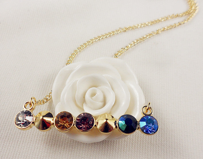Kalung Elegant Gem Necklace - 1