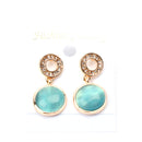 Anting Round Gem - 4