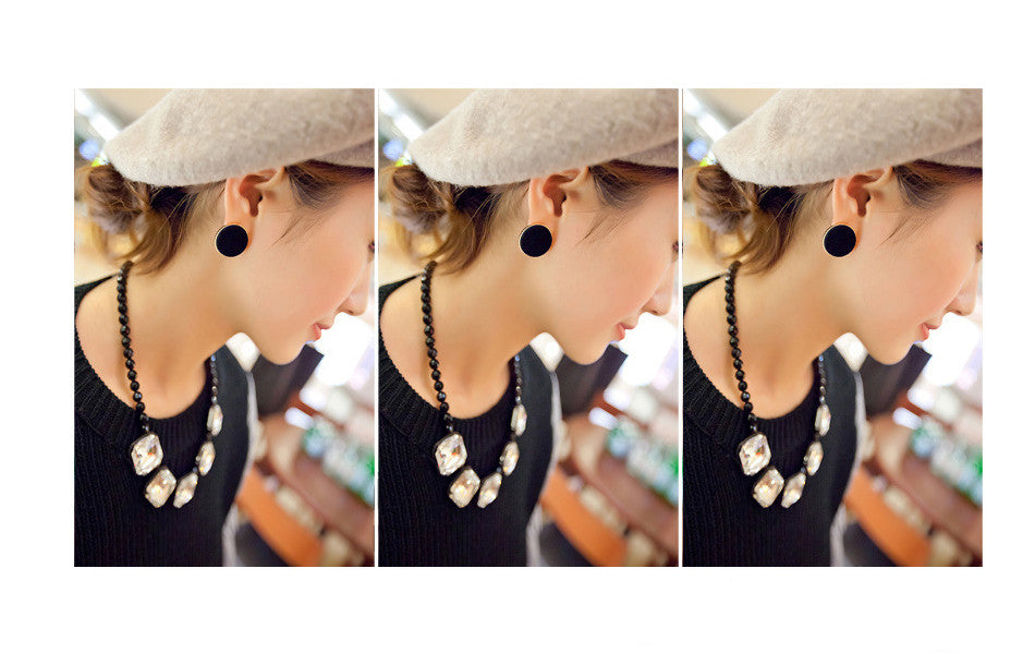 Anting Stylish Puff Earrings - 1