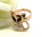 Cincin Finely Finished Trendy Kitty Ring - 1