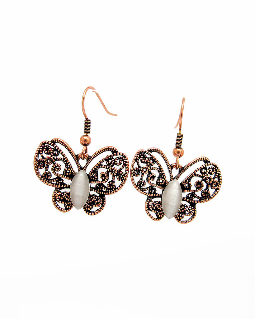 Anting High Quality 18K plated Butterfly Earrings