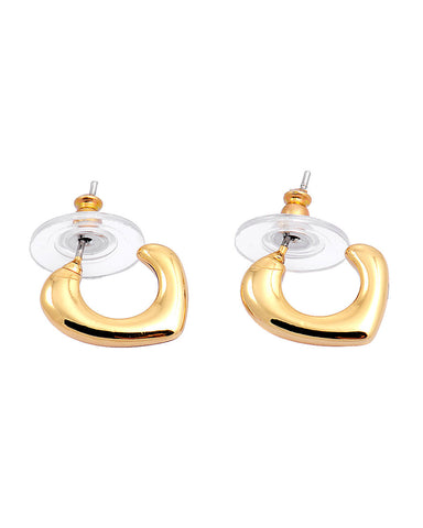 Anting 18K Plated Stylish Hook Earrings