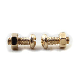 Trendy Nut & Bolt Earrings - 1