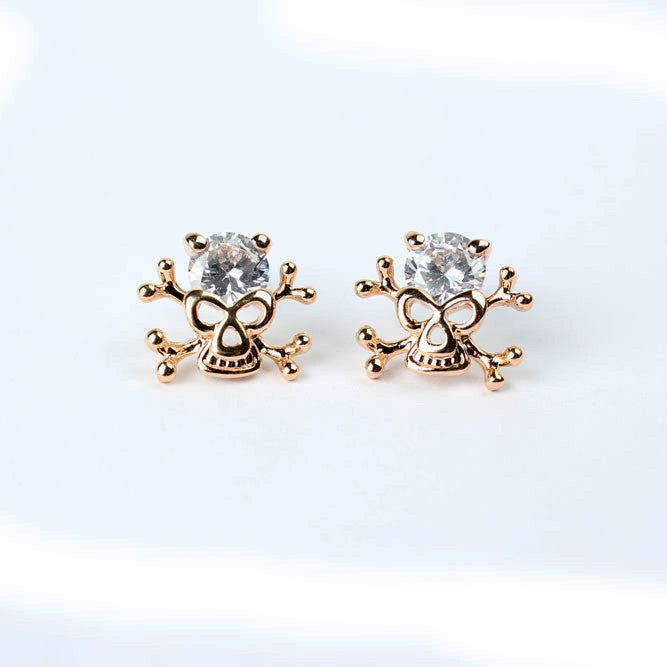 Anting Fashion Vogue Pirate Earrings (18K Plated)