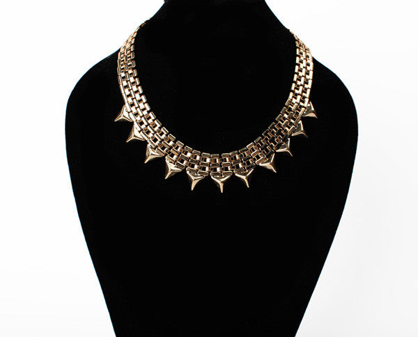 Kalung Grandiose Golden Necklace - 1