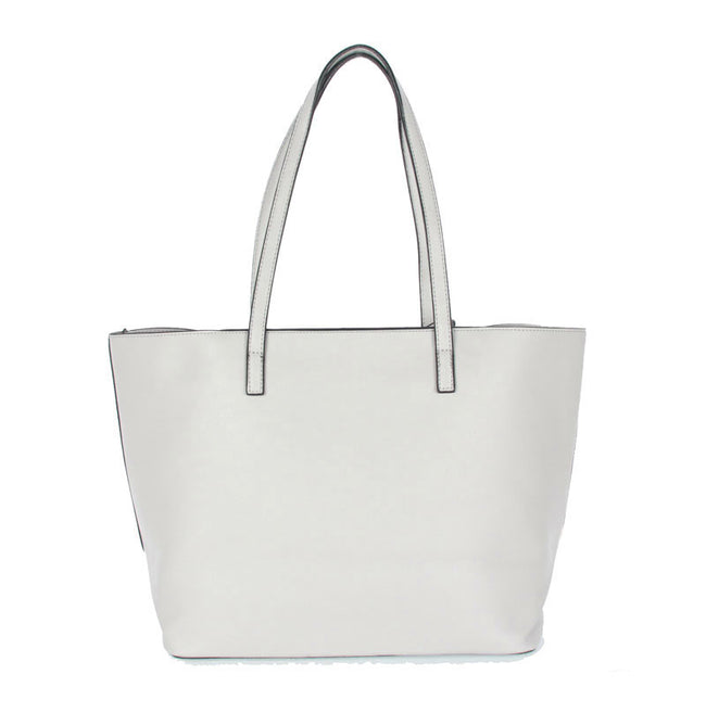 Italian Carpisa Silver Tote Bag 2 In 1 OX04