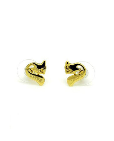 Anting 18K Gold Plated Foxy Earrings