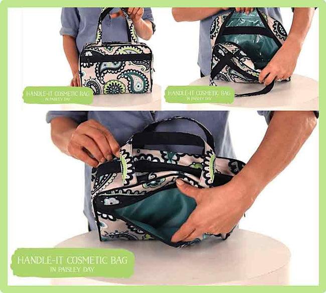 Thirty One Cosmetic Handbag Multifunction OX27