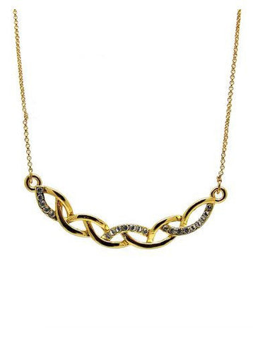Kalung Intertwining 18K Plated Necklace
