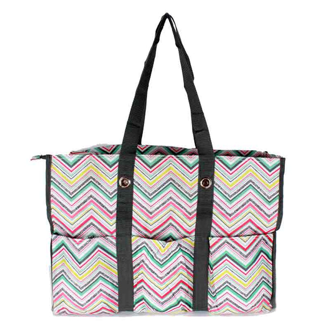 Thirty One Zip Top Organizing Utility Tote OX28
