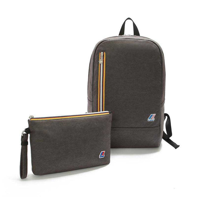 Good Quality! K-Way France Backpack 2 In 1 NQ20