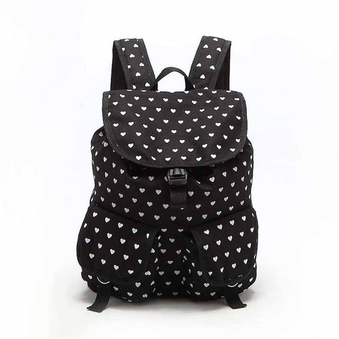 Stylish Heart Backpack AX22