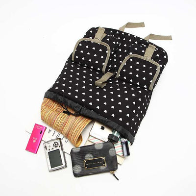 Stylish Heart Backpack AX49